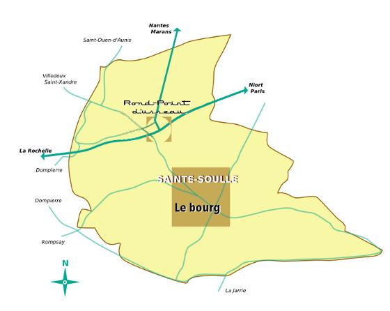 Plan de Sainte-Soulle