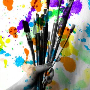 Creativity Brushes Painting  - martabystron / Pixabay