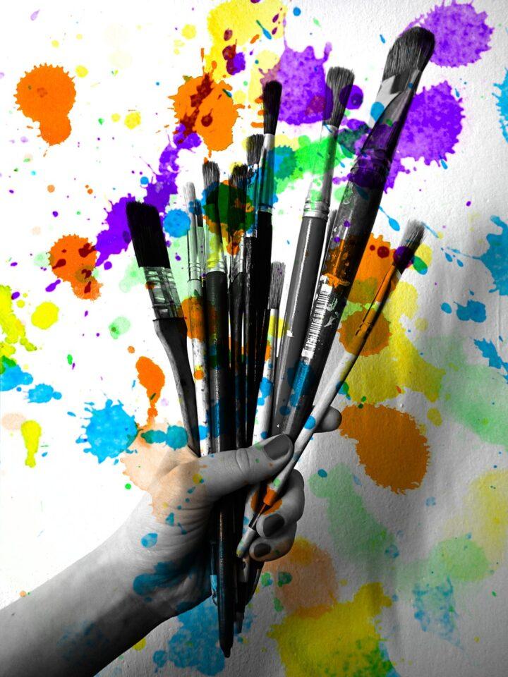 Creativity Brushes Painting  - martabystron / Pixabay