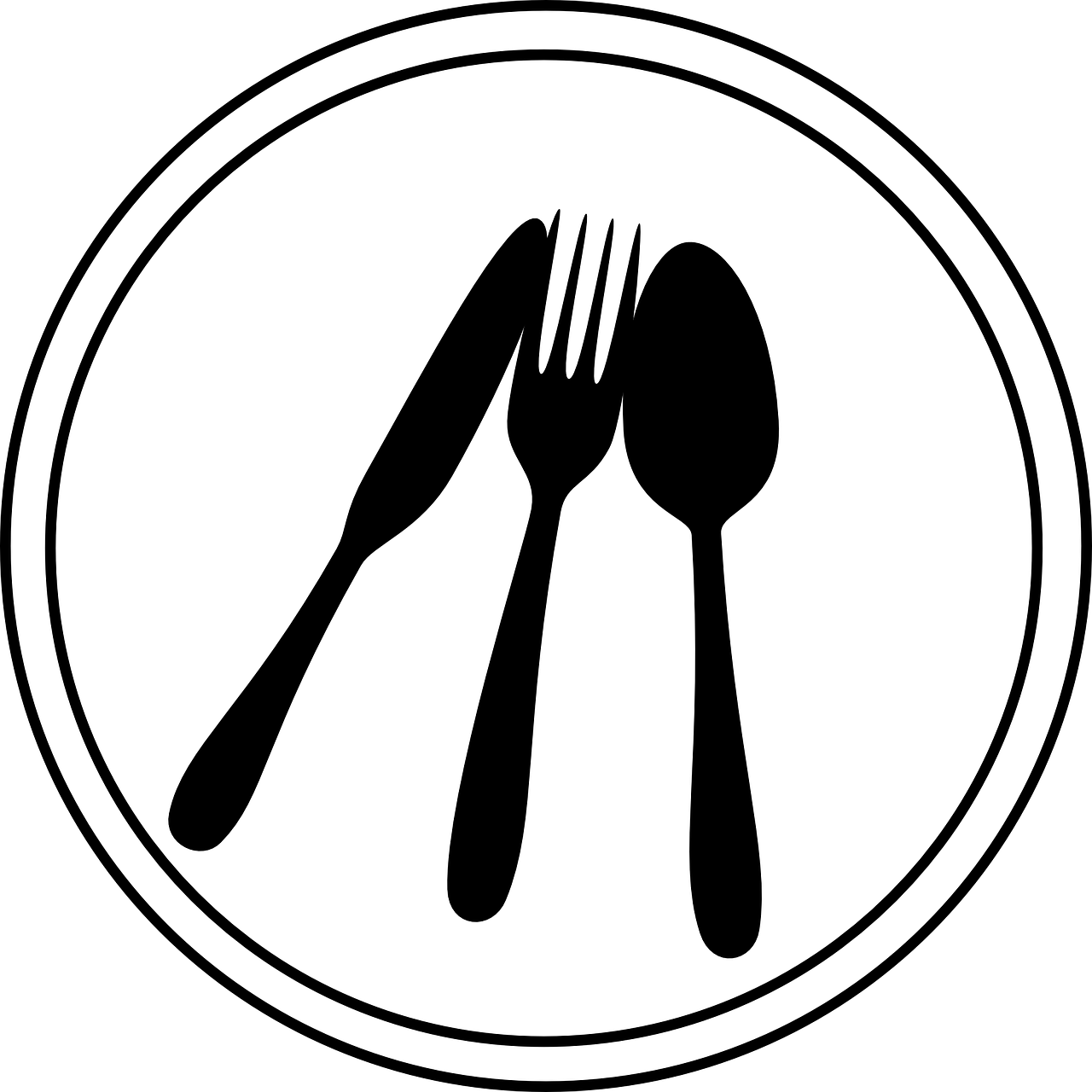 Place Setting Silverware Tableware  - Clker-Free-Vector-Images / Pixabay