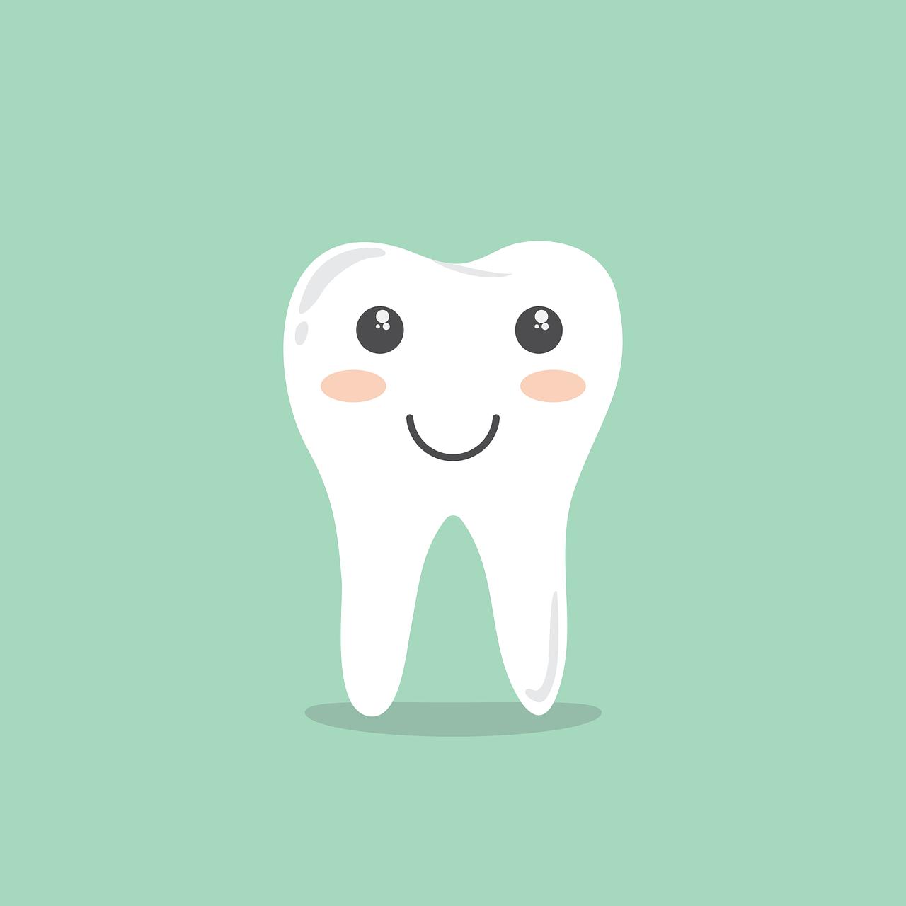 Teeth Cartoon Hygiene Cleaning  - LoveYouAll / Pixabay