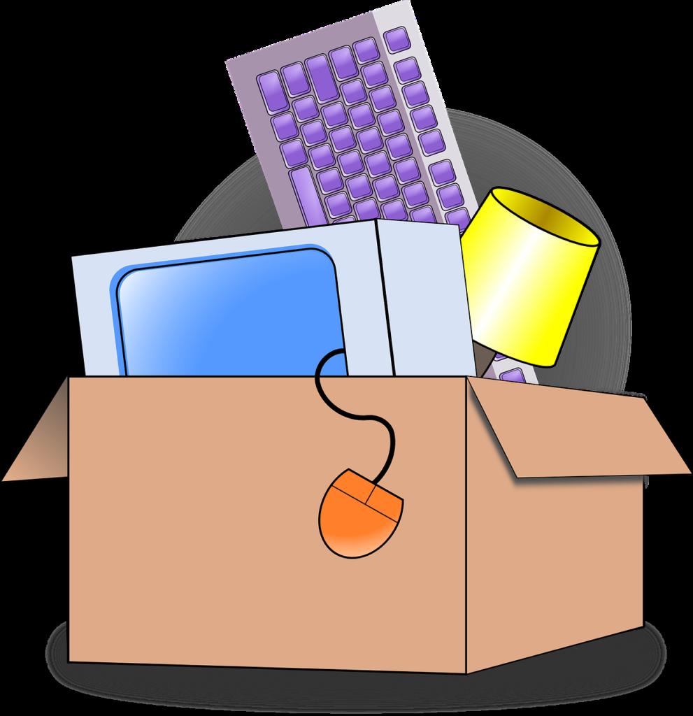 Gestion des déchets lors du déménagement